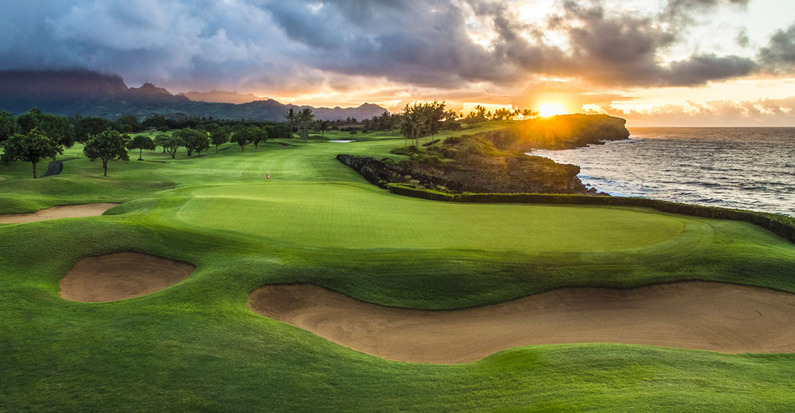 Kauai Oceanfront Golf Course