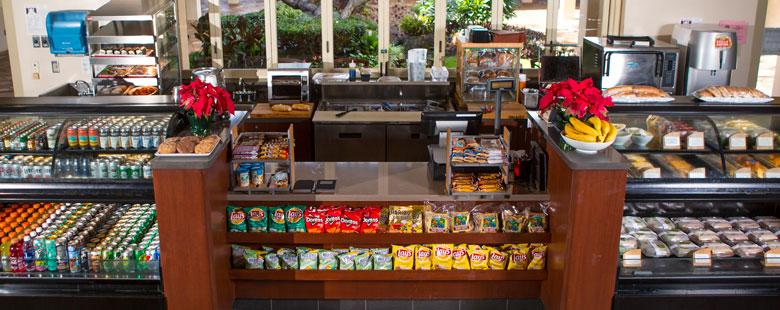 Poipu Bay Food and Drink Selection